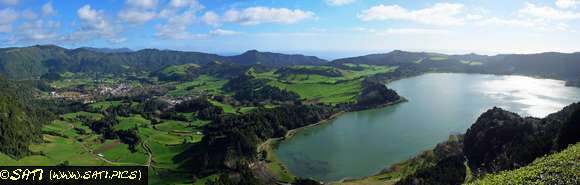 lagoa do furnas panorama
